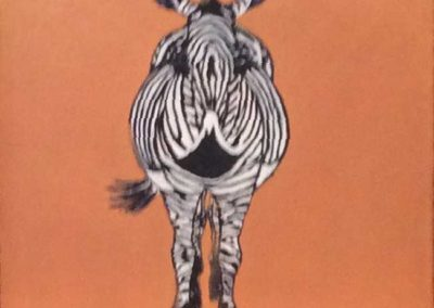 Zebra (part of a Triptych)